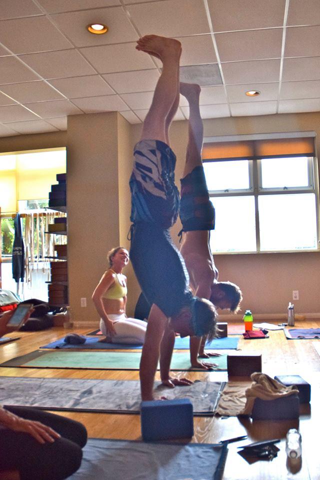 Handstand-athon