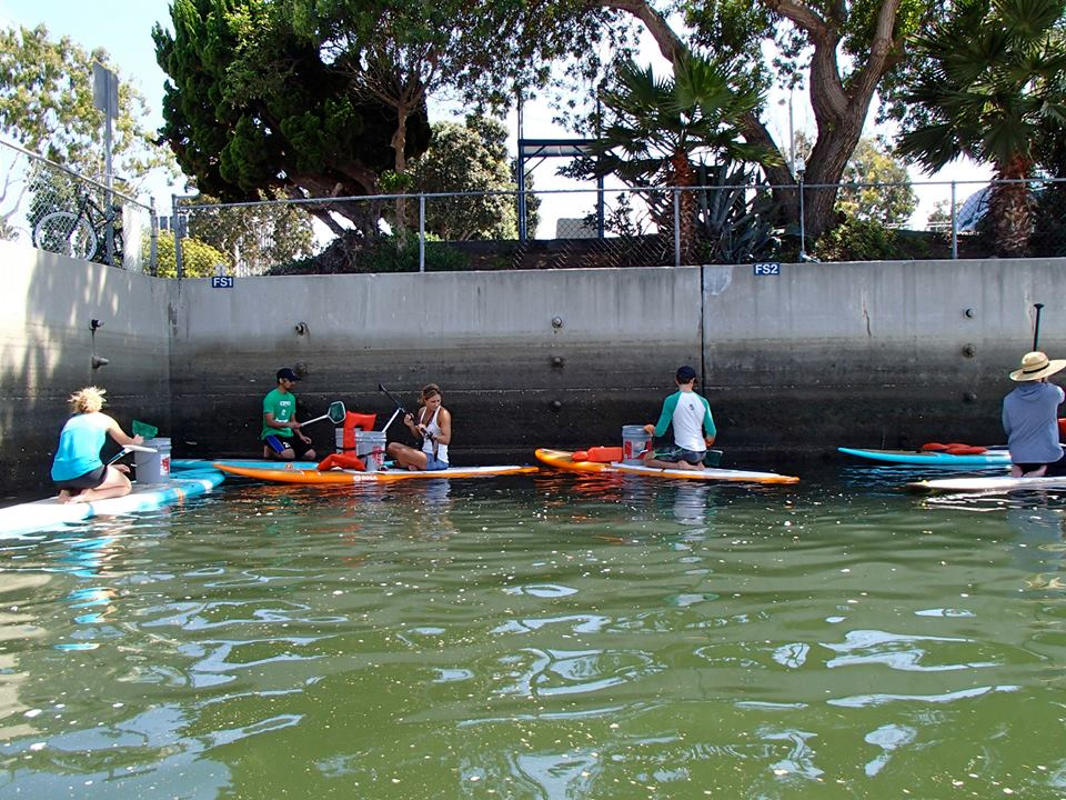 Earth Day Paddle Board Clean Up